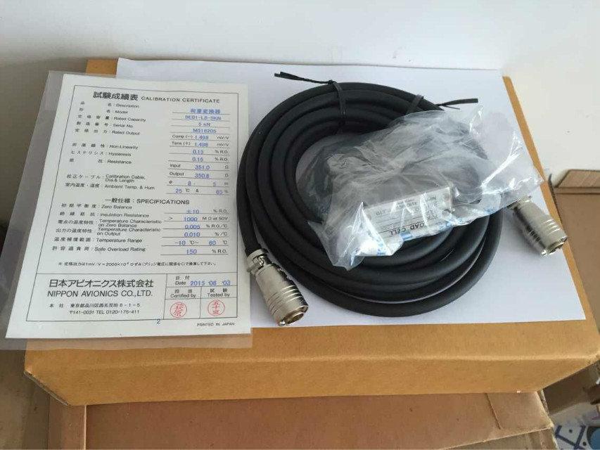 日本NEC/AVIONOCS  9E01-L8-5KN称重传感器 / 荷重传感器