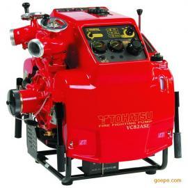 日本东发VC82ASE手抬机动消防泵,东发手抬泵