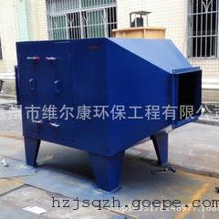 国内零售/厂家直销 5万风量活性炭吸附塔 有机/粉边角料处理设备