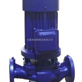 ISG|IHG|IRG|GRG15-80立式管道离心泵