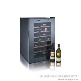 红酒***/酒柜热销品/28瓶装半导体电子酒柜/