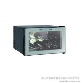 (触摸屏)8瓶装电子酒柜/恒温电子酒柜/LED灯电子酒柜