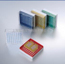 81格聚碳酸酯液氮冻存盒|冷藏盒-196℃