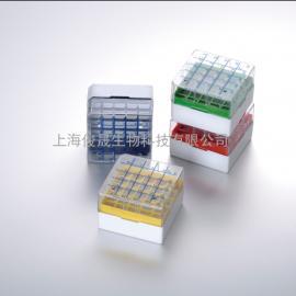 25格聚碳酸酯液氮冻存盒|冷藏盒-196℃