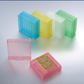 81格PP塑料低温冻存盒/冷冻盒