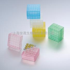 25格PP塑料低温冻存盒/冷冻盒