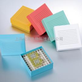 81格彩色纸质冻存盒/冷冻盒