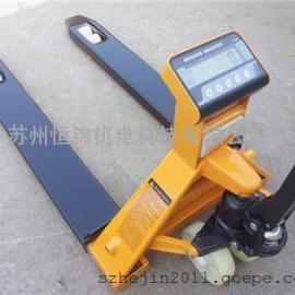 苏州现货供应SCS-2T液压电子叉车秤