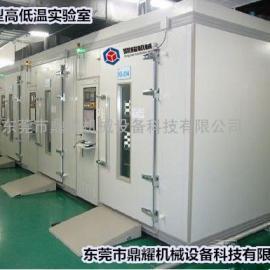 DY-BRS-20G正规走进式气体试验室高低温干冷老化初试仓
