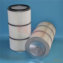 热卖推荐 粉尘滤芯 PTFE覆膜除尘滤筒滤芯