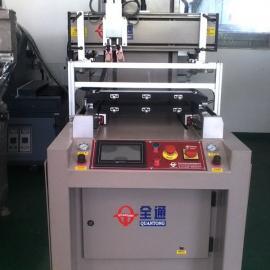 双工作台玻璃盖板丝网印刷机