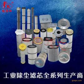 专业生产 工业粉尘滤芯 除尘环保滤芯滤筒