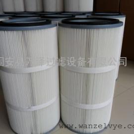铸造厂抛丸机阻燃聚酯纤维滤布3566除尘滤筒滤芯万泽特供
