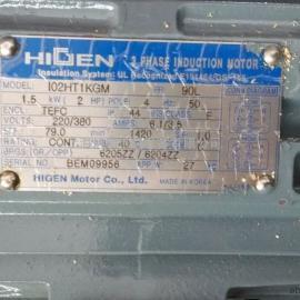 HIGEN电机|HIGEN马达HIGEN齿轮减速机