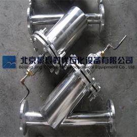 手摇刷式过滤器 半自动刷式清洗过滤器 知名品牌北京景辰