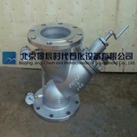 厂家直销手摇刷式过滤器 Y型刷式过滤器北京专业生产厂家