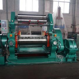 450型橡胶自动翻胶炼胶机18寸轴承翻胶开放式炼胶机批发价格