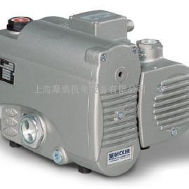 德国进口贝克U3.6真空泵 旋片油润滑空气冷却真空泵