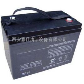 西安力奇洗地机电池,西安威霸全自动洗地机电瓶