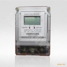厂家单相预付费插卡电表批发 IC卡表 出租房电表 防窃电偷电