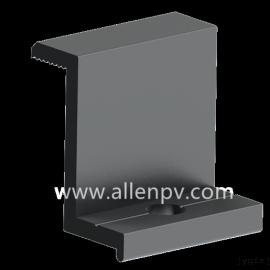 聚鑫光伏支架铝合金压块 JX-BY002