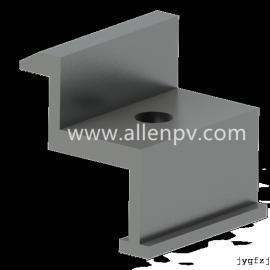 聚鑫光伏支架铝合金压块JX-BY005