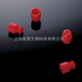 聚乙烯PE试管盖 红色试管盖