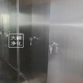 更衣柜|二门更衣柜|不锈钢更衣柜|净化产品|厂家