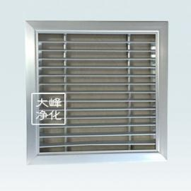 固定百叶喷塑|回风窗|手调百叶窗|排风口|厂家直销|净化回风口