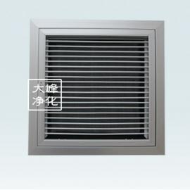 可开调节带阀带网喷塑|回风窗|调节百叶窗|排风窗|苏州净化设备
