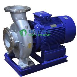 防爆管道泵:ISWH型�P式�渭�不�P�管道�x心泵