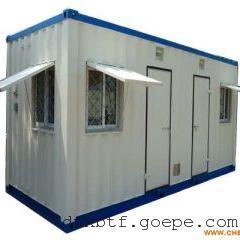 沙漠办公集装箱房屋出售集装箱餐厅报价低移动车载野营房图片