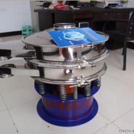 圆形不锈钢振动筛新乡天腾厂家粉末振动筛精细旋振筛