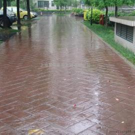 六安水泥压花地坪|舒城艺术压模地坪|金安园林景观路面铺装