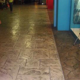 巢湖装饰路面混凝土艺术地坪|无为压花地坪做法|庐江压模地坪