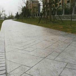 巢湖彩色艺术压模地坪|和县水泥压花路面|含山仿石压印混凝土
