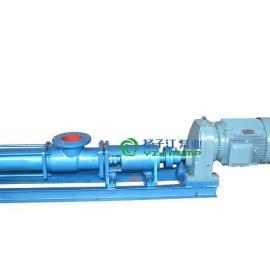 防爆螺杆泵:G型不锈钢单螺杆泵配调速电机,耐腐蚀单螺杆泵