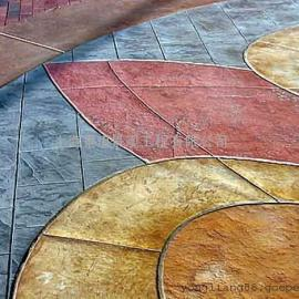 滁州艺术压花混凝土|凤阳水泥压模地坪|琅琊道路铺装仿石路面