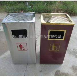 供应中信银行方形垃圾桶