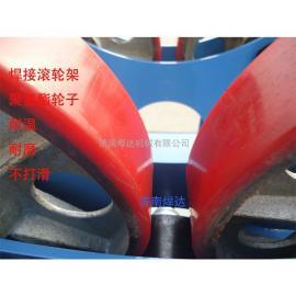 焊接工作轻松在滚轮上完成 焊接滚轮架 济南焊达机械
