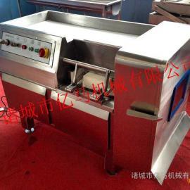 全自动冻肉切丁机 肉丁机生产厂家 五花肉切丁机厂家供应