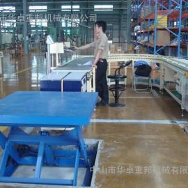 深圳升降机 流水线滚筒式升降平台 流水线升降机哪种好