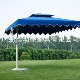 动绿户外家具 单边太阳伞