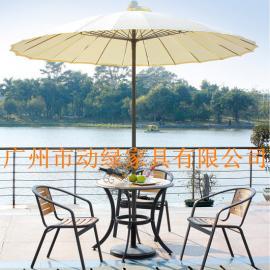 户外家具之仿木休闲桌椅、铝木桌椅、塑木桌椅