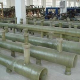 电厂脱硫专用玻璃钢管道喷淋层管道