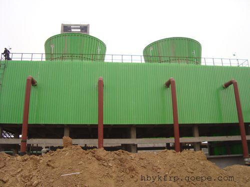 供应GFNL循环水玻璃钢冷却塔凉水塔
