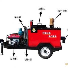 SR-Q400D牵引式路面灌缝机