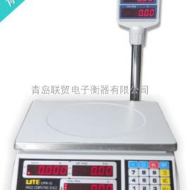 【厂家让利促销】台湾联贸电子秤UPA-QT 立杆计价秤 30公斤