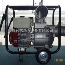 6寸本田汽油�C水泵|防汛用6寸汽油水泵