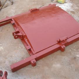 DN400mm法兰式铸铁镶铜闸门价格